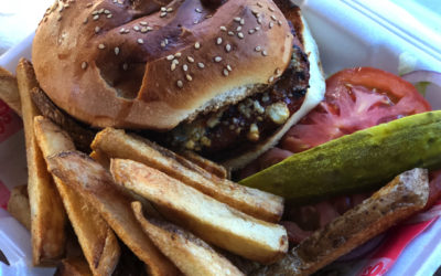 The Alligator Burger an exotic experience